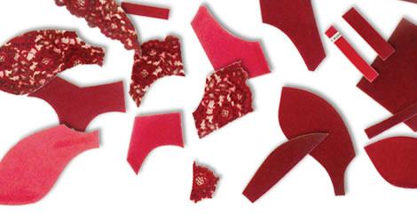 59のパーツを使用したbloomのブラジャーは、快適な付け心地を実現します。